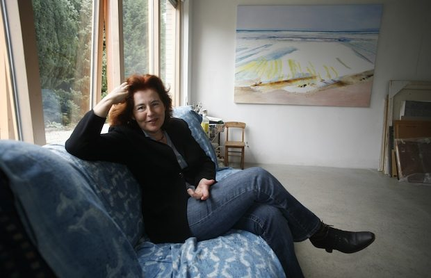 Angeline Lips in haar atelier