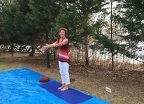 time out retreat yoga at seaside