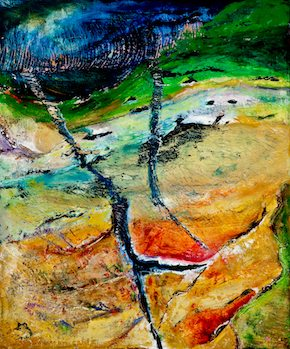 Celeste Neelen abstract landscape