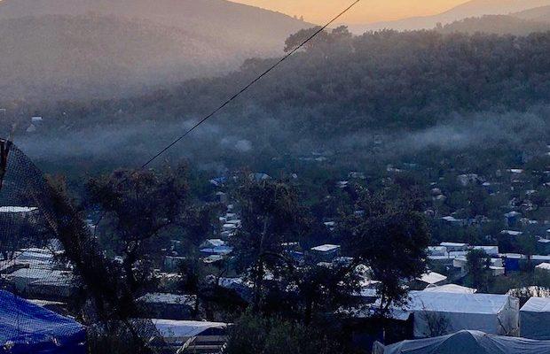 Moria refugee-camp Lesbos