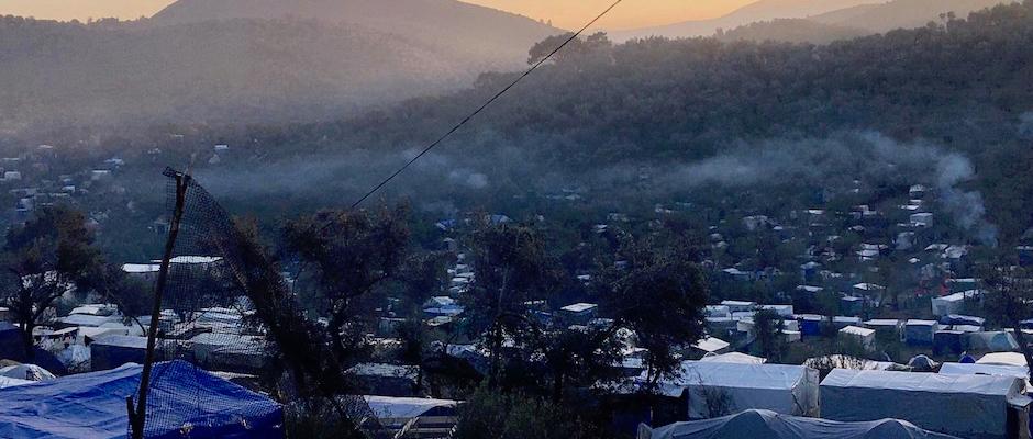 Moria kamp Lesbos