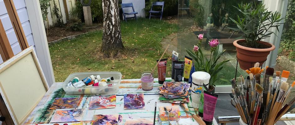 Atelier in het bos